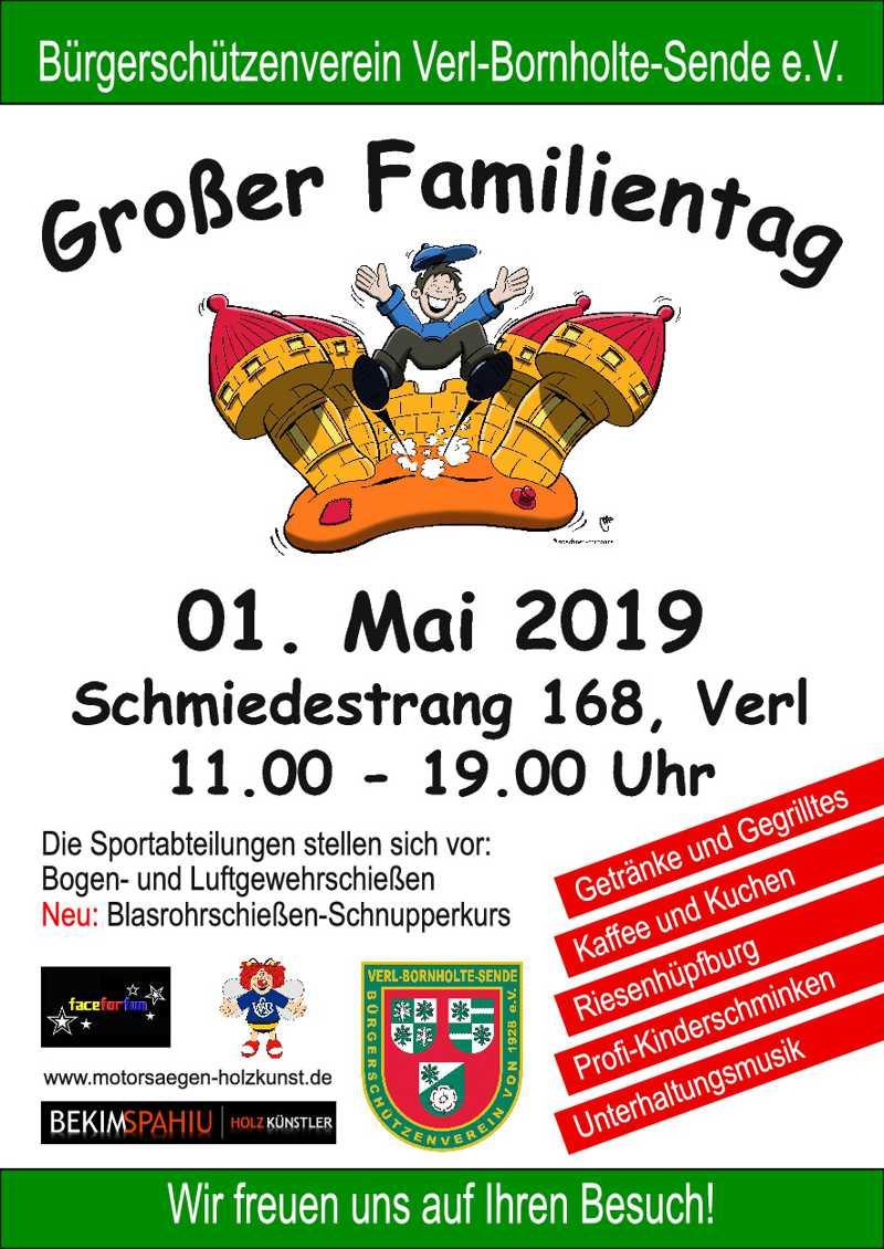 BSV Familientag @ Schützenheim BSV | Verl | Nordrhein-Westfalen | Deutschland