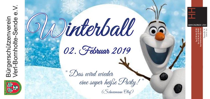 Winterball BSV @ Haus Henkenjohann | Verl | Nordrhein-Westfalen | Deutschland
