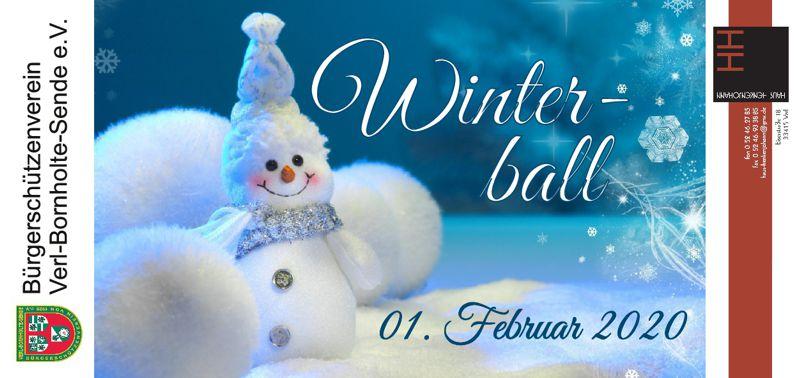 BSV Winterball @ Haus Henkenjohann | Verl | Nordrhein-Westfalen | Deutschland