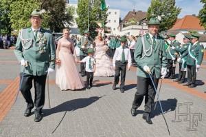 Schützenfest Sonntag im August 2016